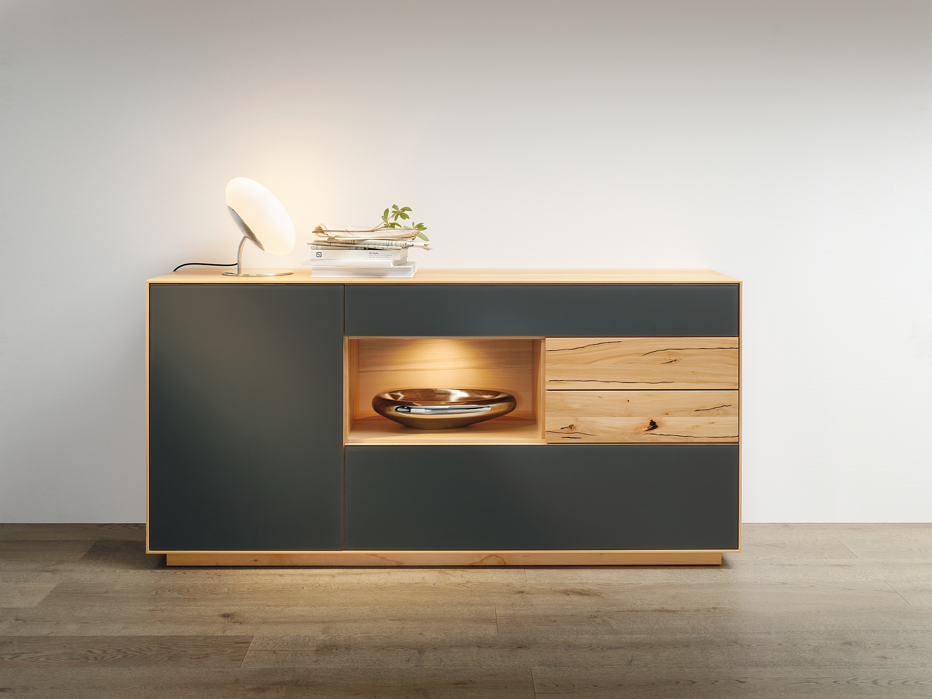 sideboard puro wohnopposition berlin. Black Bedroom Furniture Sets. Home Design Ideas