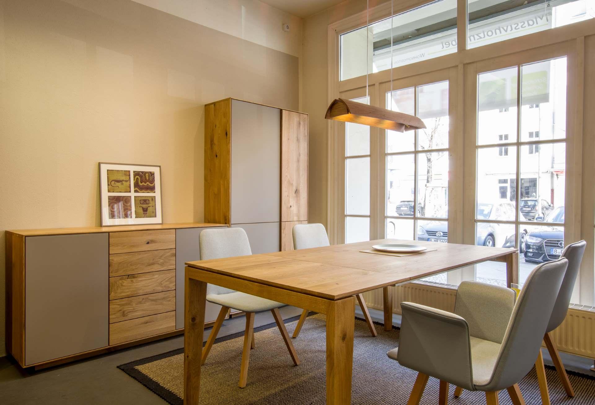Schrankprogramm Cento Holz und Glas