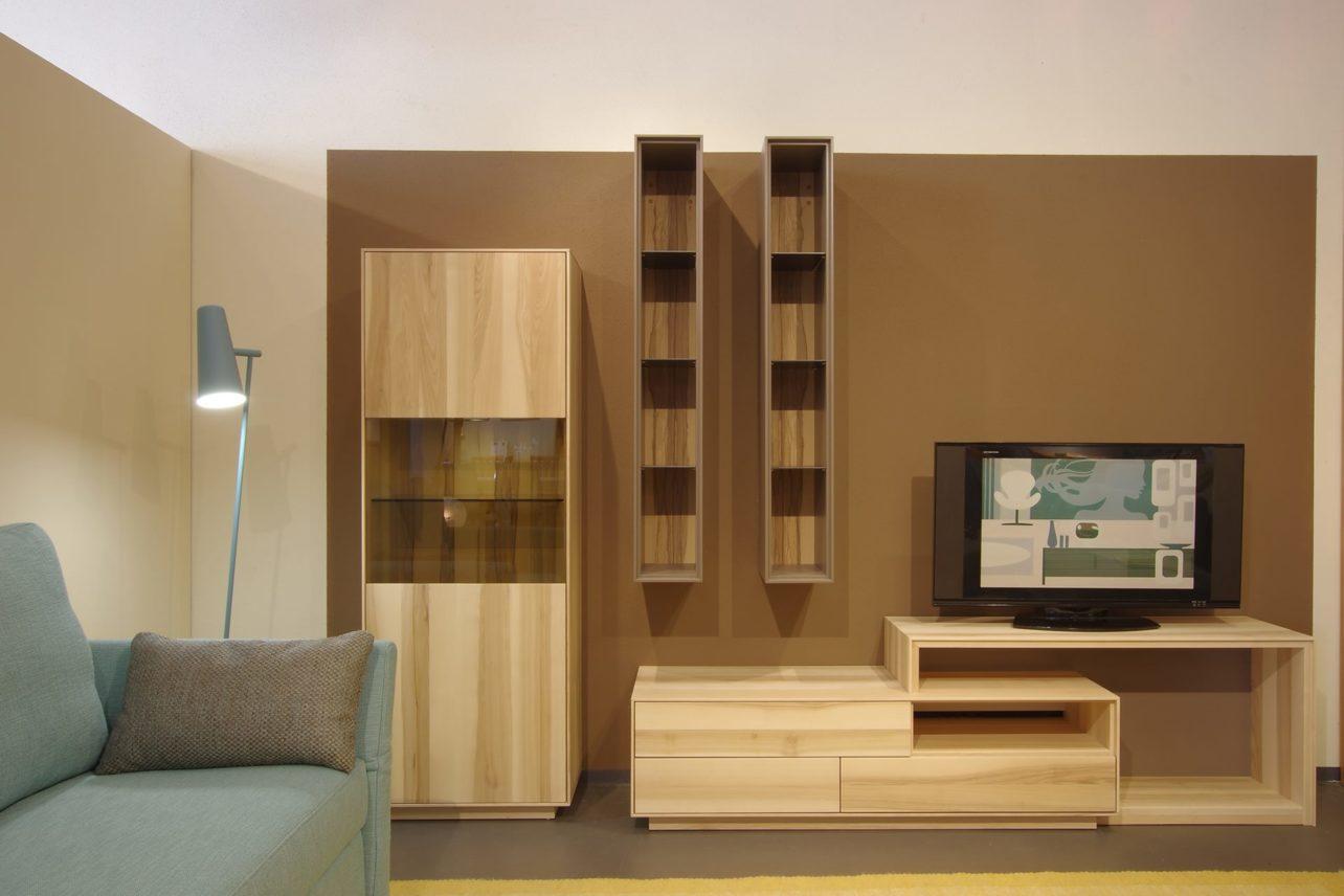 Wohnwand Puro Ausstellung