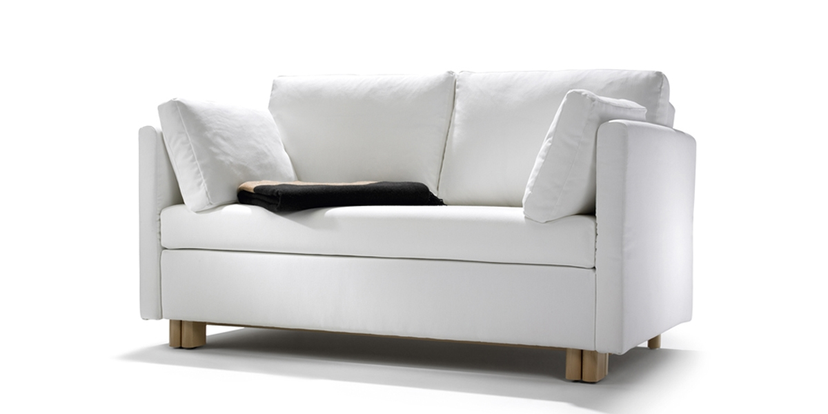 Schlafsofa Petra in weiss