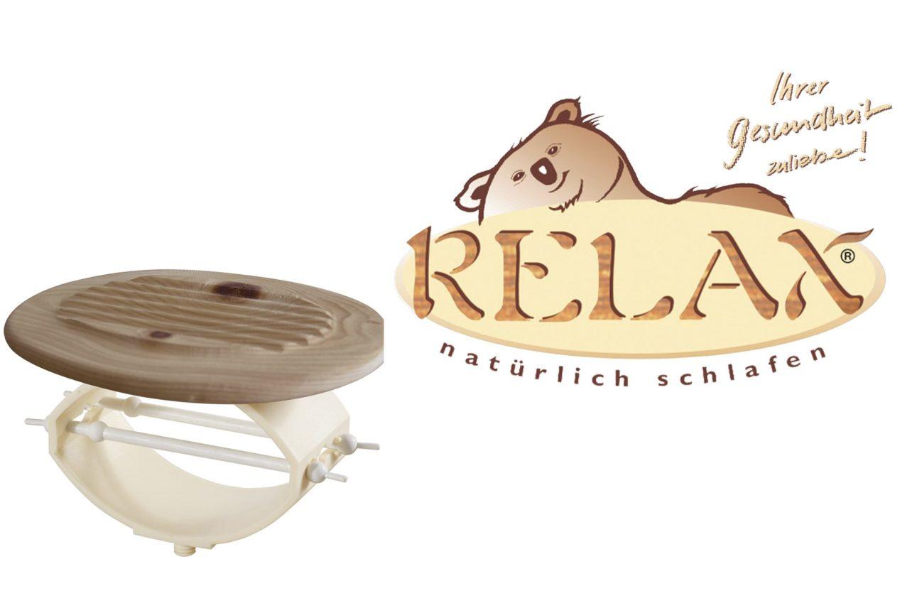 Relax Natürlich Wohnen GmbH mit Spezialfederkörper und Logo