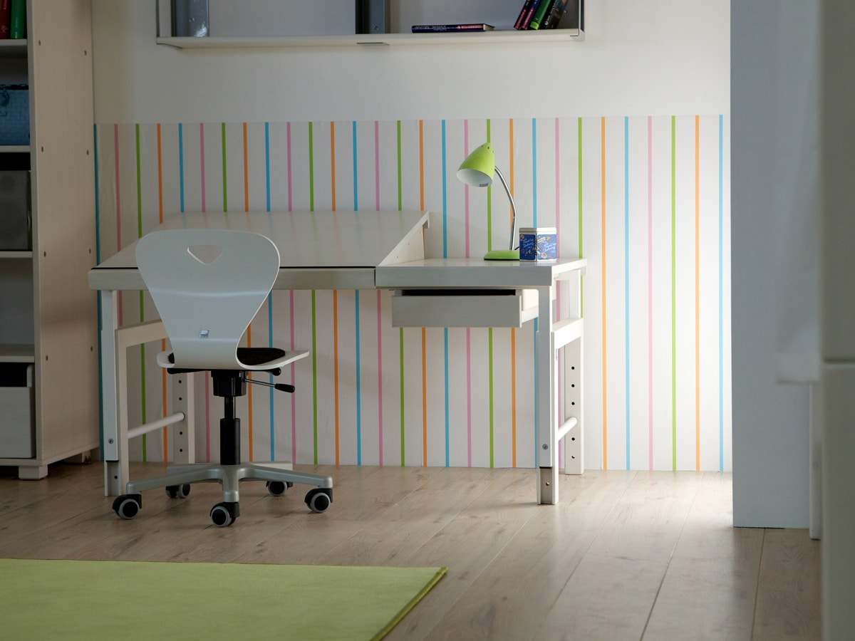 Schreibtisch Ziggy DBD-860, weiß