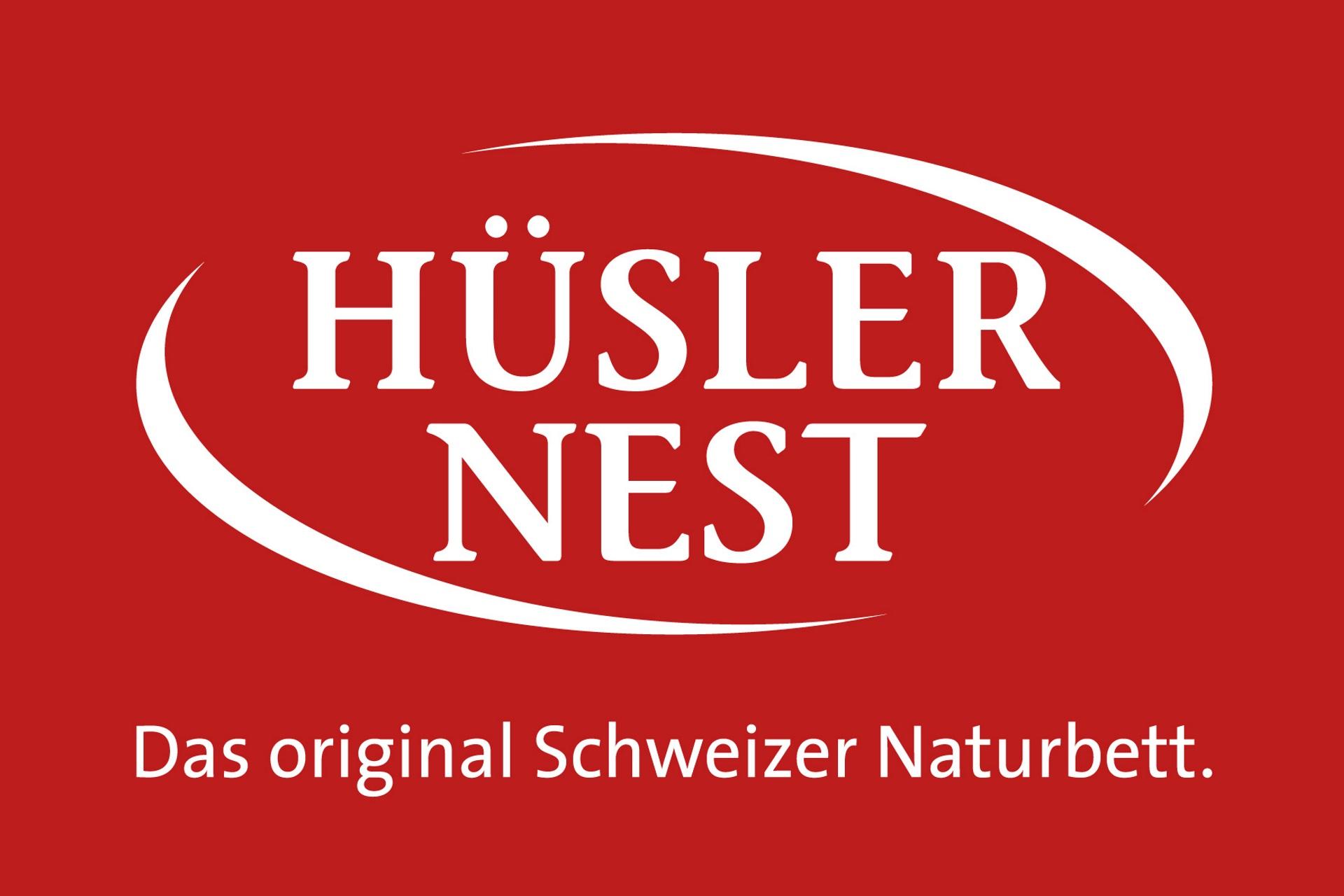 Logo des Original Schweizer Naturbettsystems Hüsler Nest