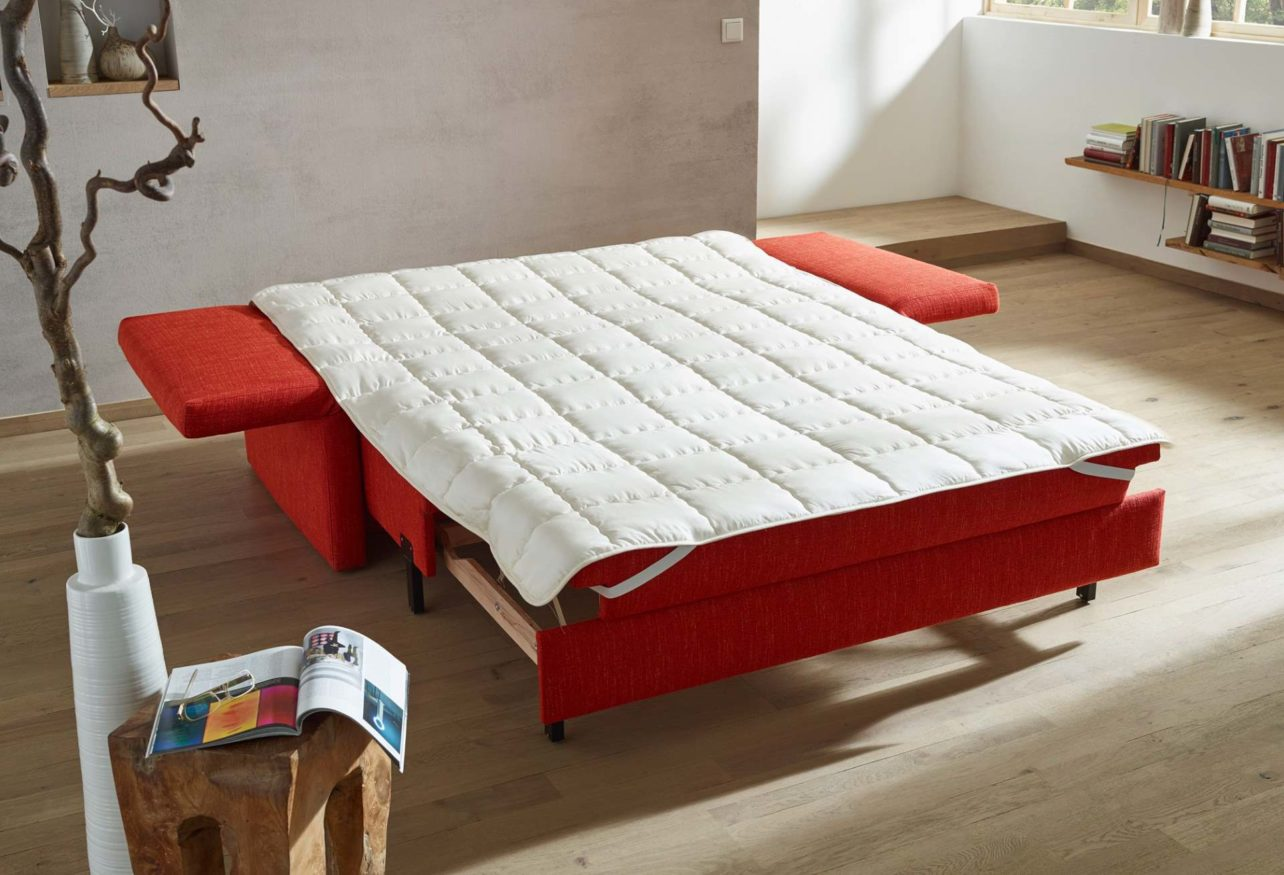 Baumwollauflage passend Schlafsofas