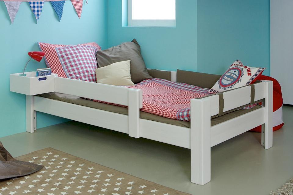 Kinderbett Max Buche weiss