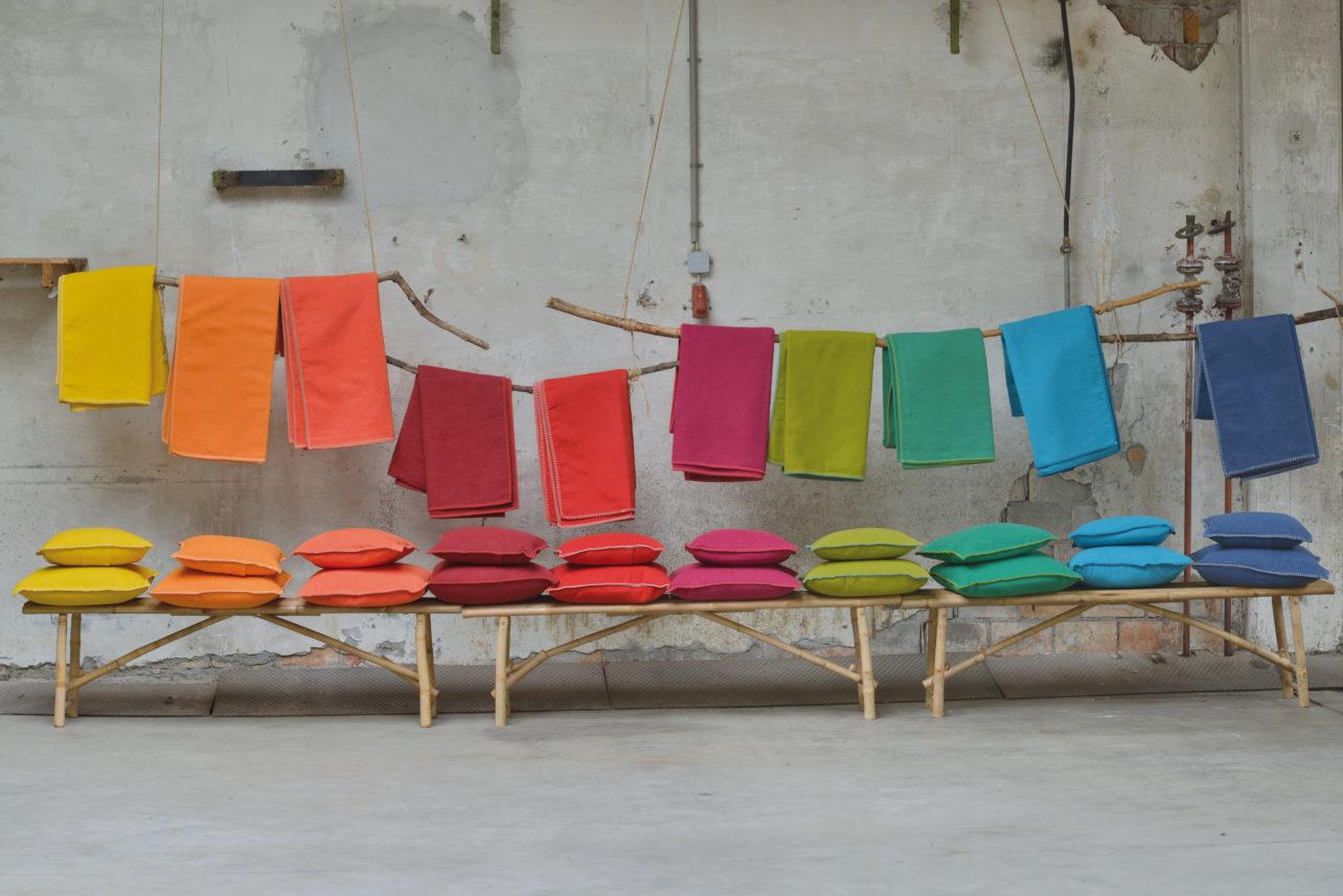 Baumwolldecken & Kissen Basic Sylt