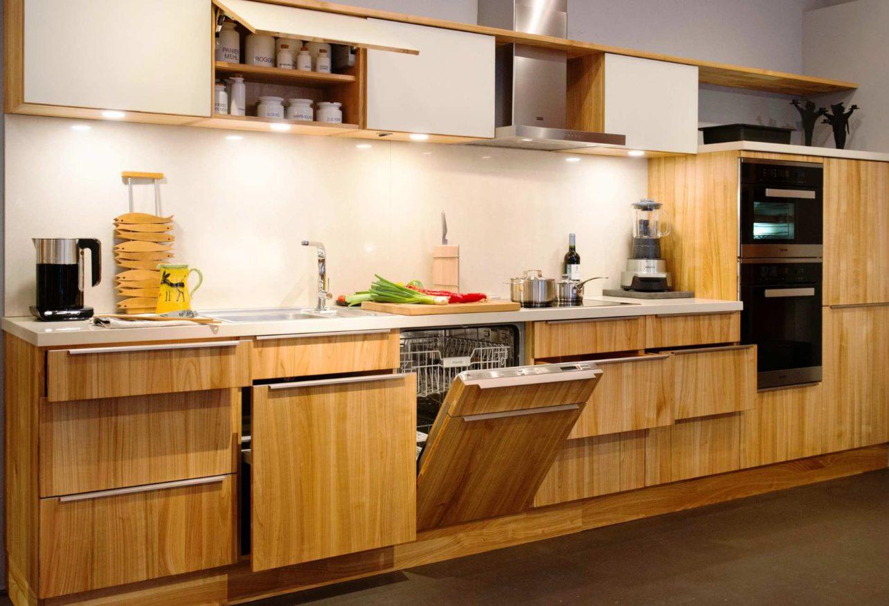 Küche Culignea in Kirsche geölt