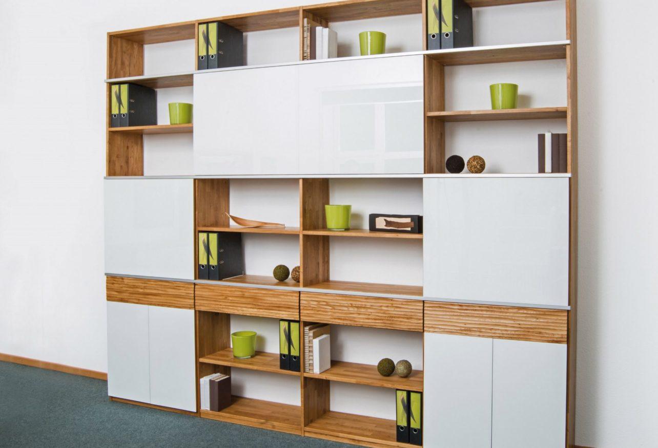 wohnwand trend massive eiche und glas wohnopposition berlin. Black Bedroom Furniture Sets. Home Design Ideas