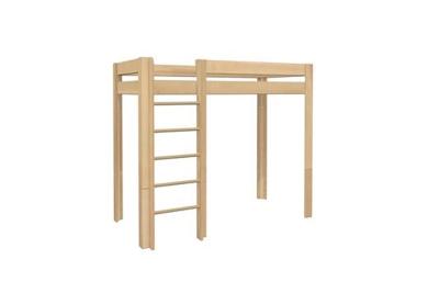 Holzhochbett Trax für Jugendliche mit Platz untendrunter