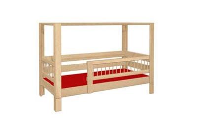 Himmelbett mit Umrandung für Kleinkinder