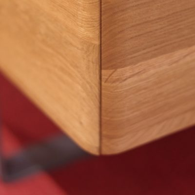Runde Kanten am Rahmen Bett Kendo