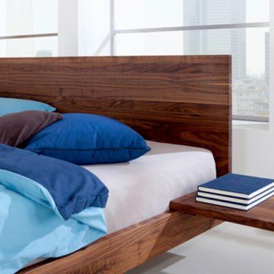Kopfteil Bett Nido Nussbaum
