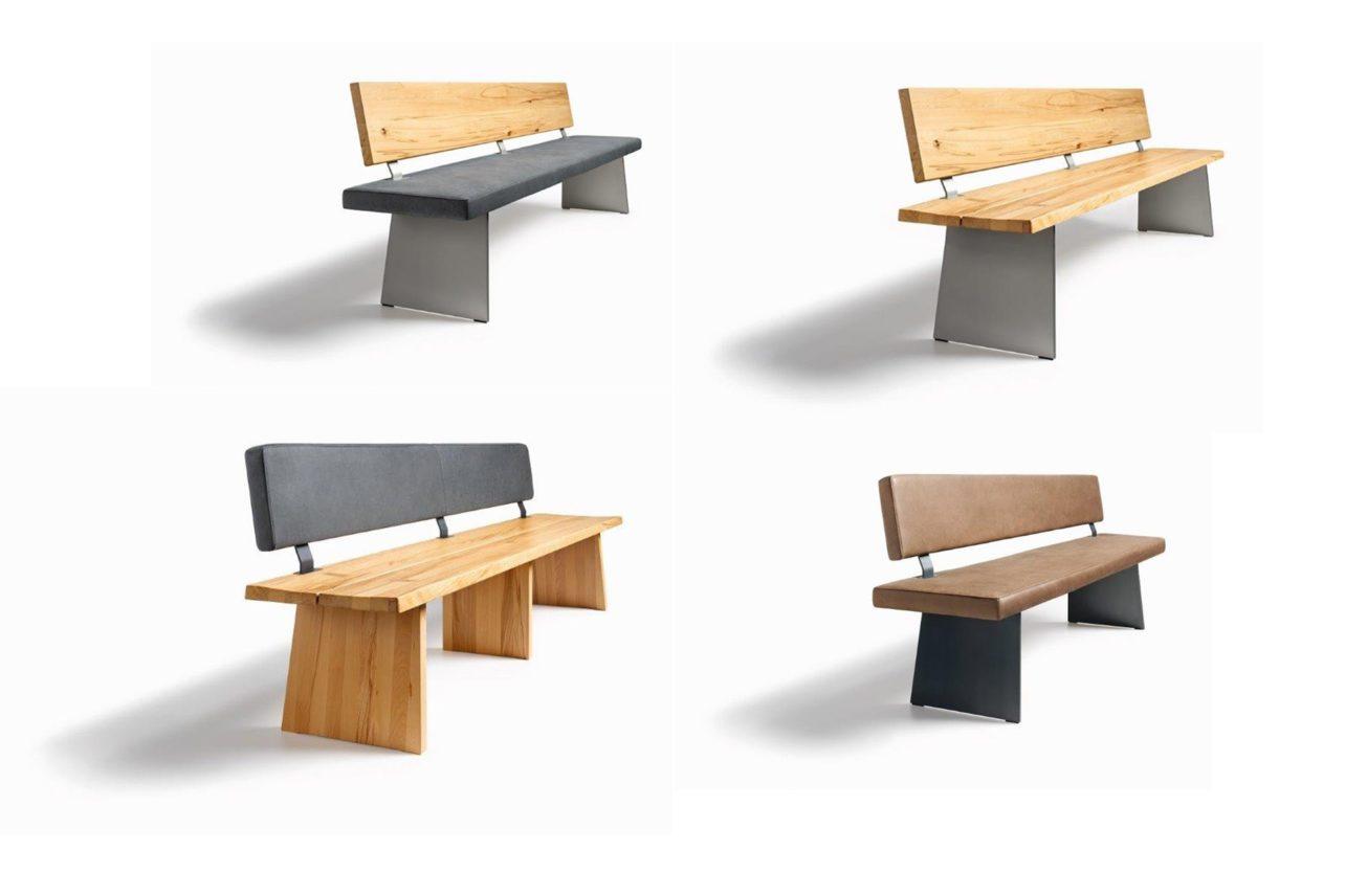 Sitzbänke Puro verschiedene Versionen