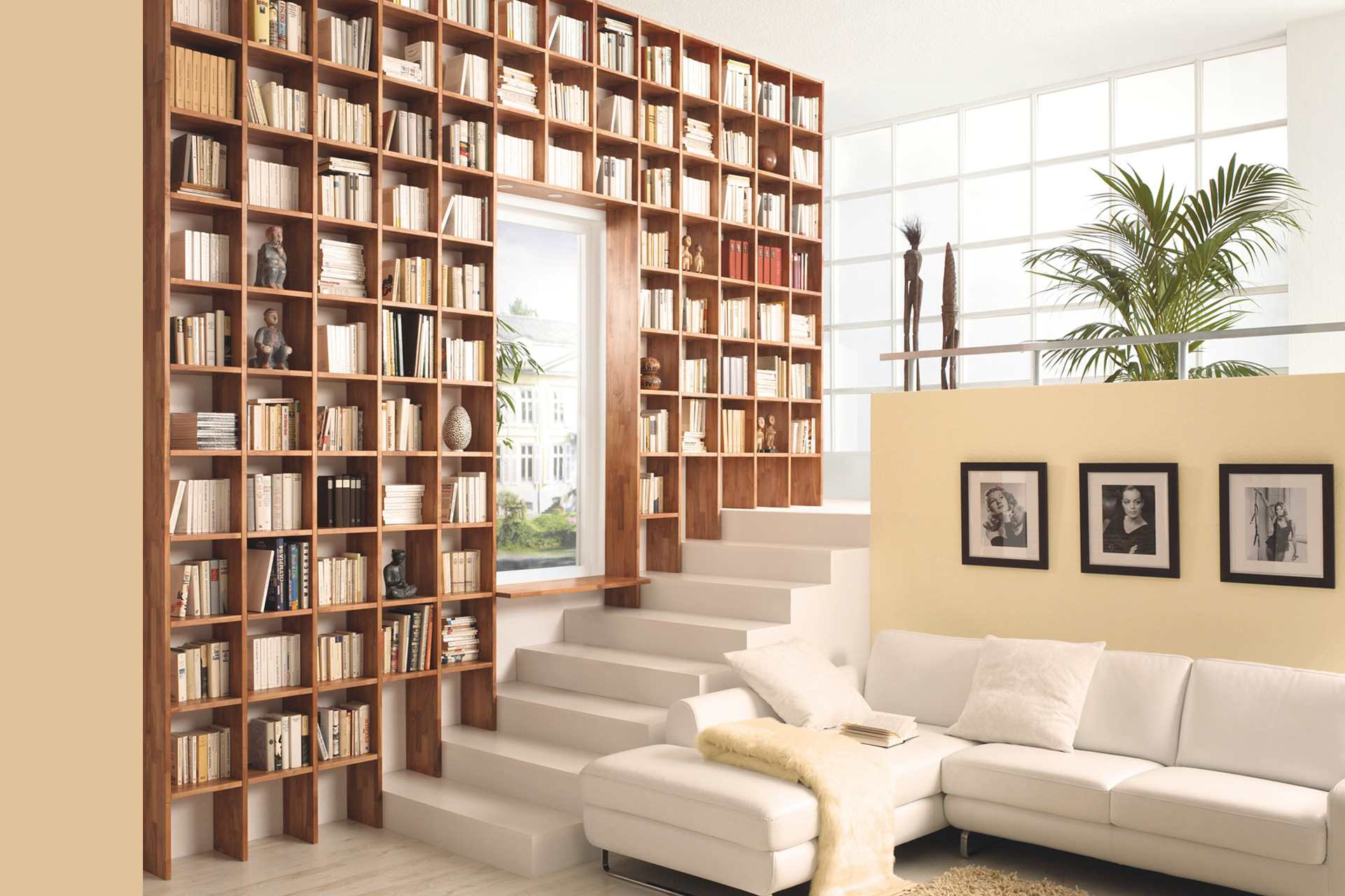 stufenregal trendnatur massivholz wohnopposition berlin. Black Bedroom Furniture Sets. Home Design Ideas