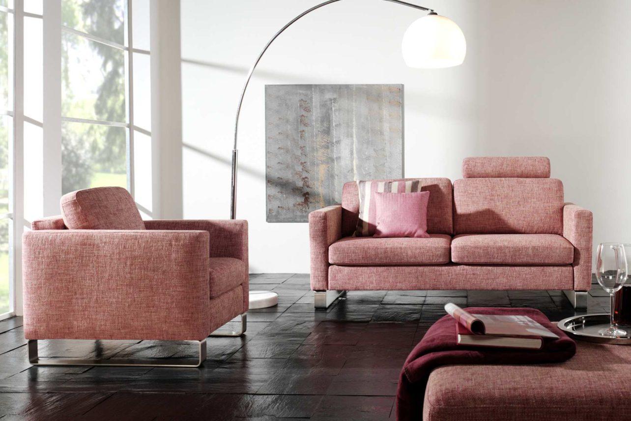 Sofagruppe Sirio mit 2,5sitzer Sofa, Sessel und Hocker
