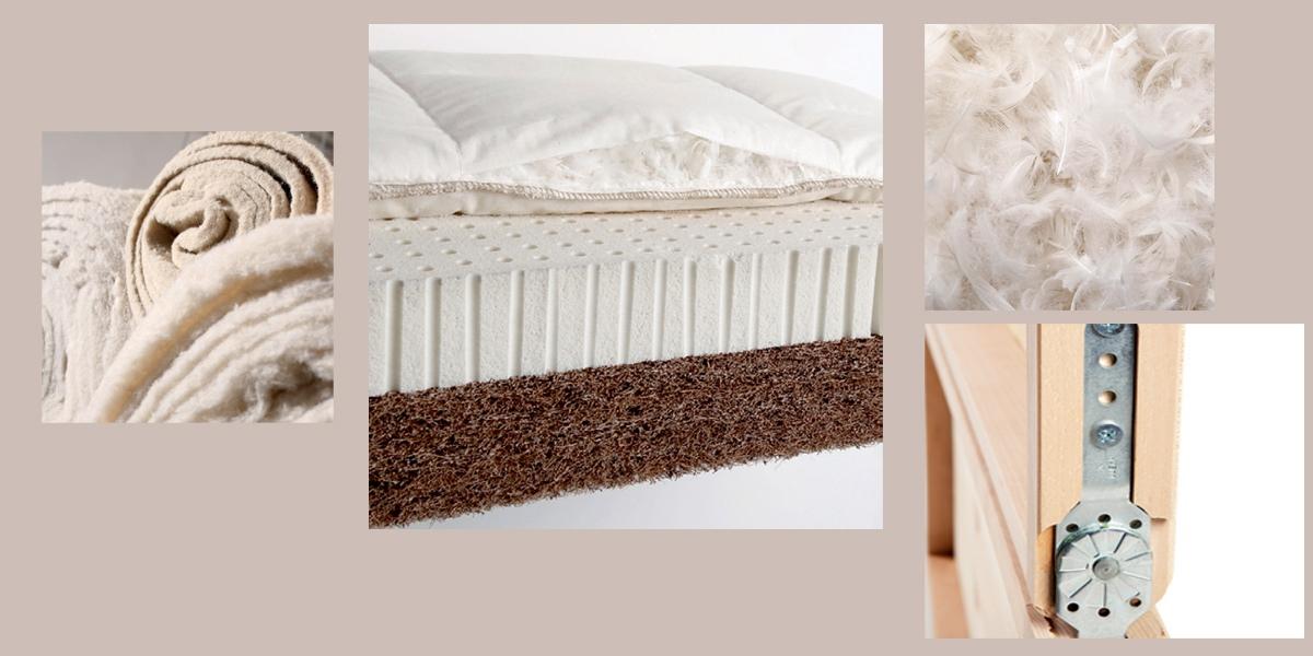 Ökologische Polstermaterialien bei den Sofas von Wolkenweich