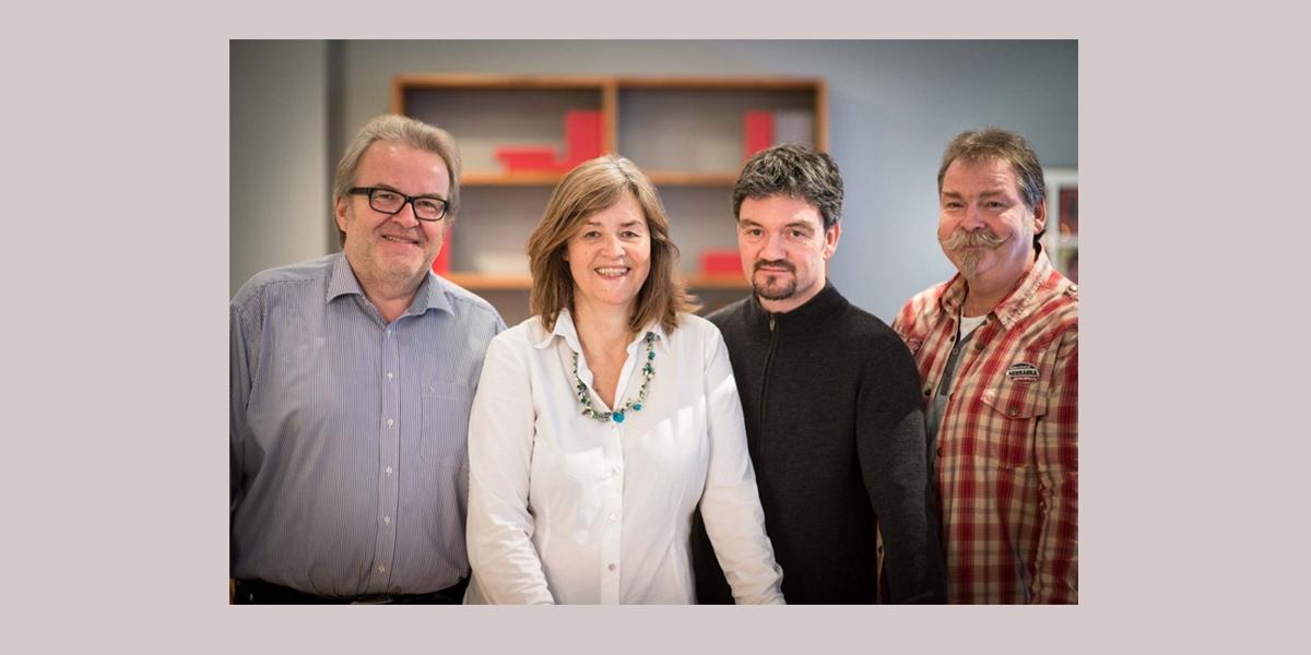Rolf Amann und das Team der Wohnopposition