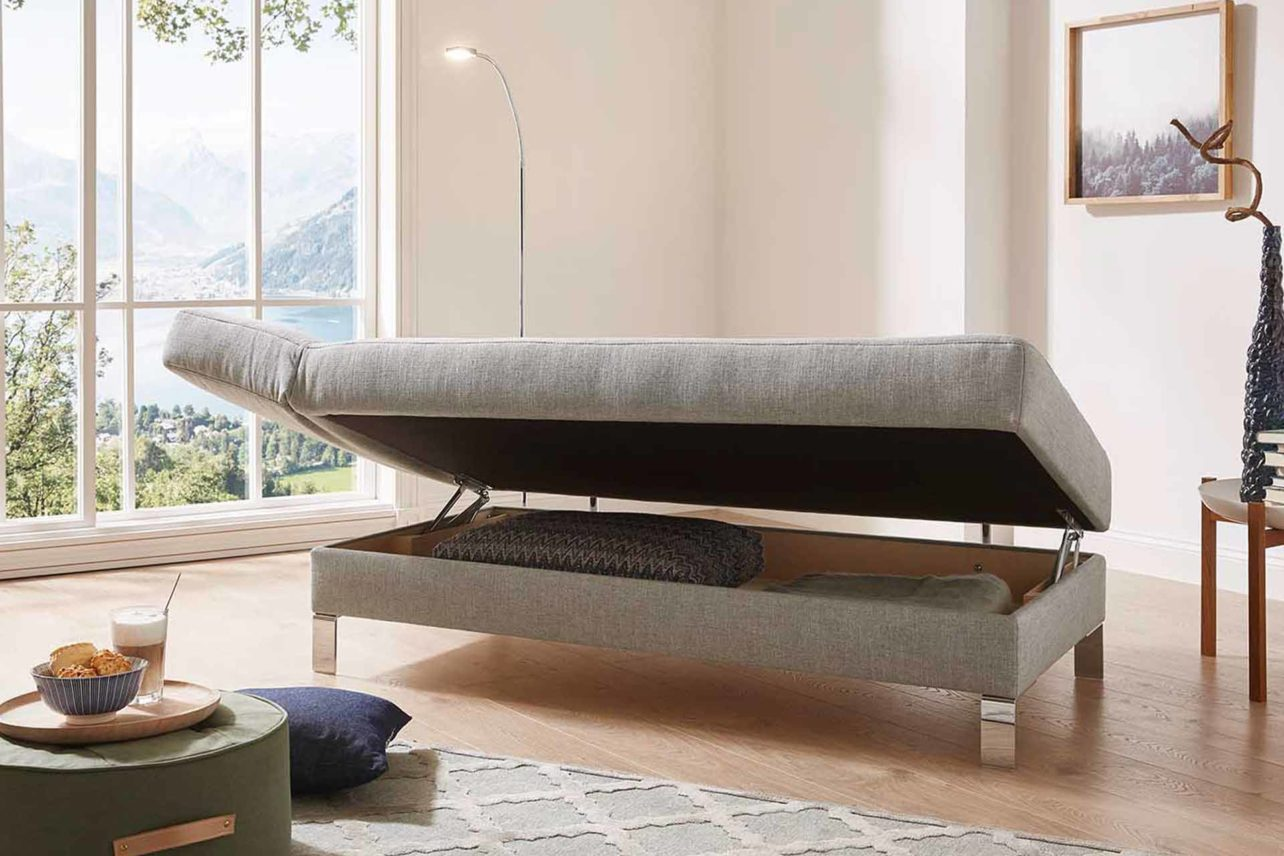Relaxsofa Solo mit Bettkasten