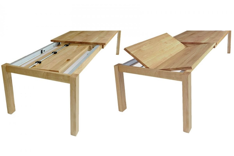 Tafeltisch Julia mit Klappplatte