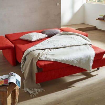 Schlafsofa Catania ausgeklappt als Doppelbett