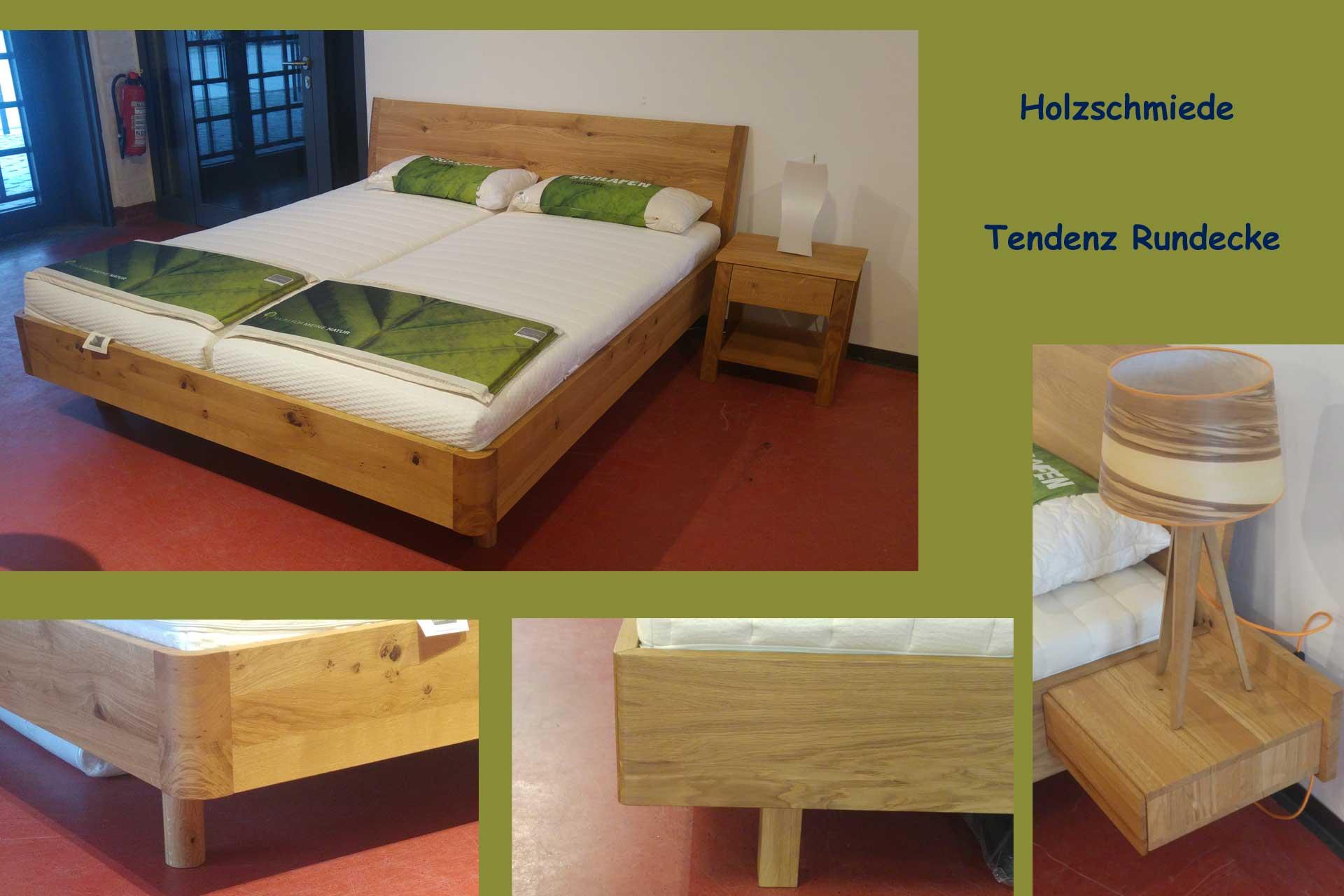 Betten mit Rundecken