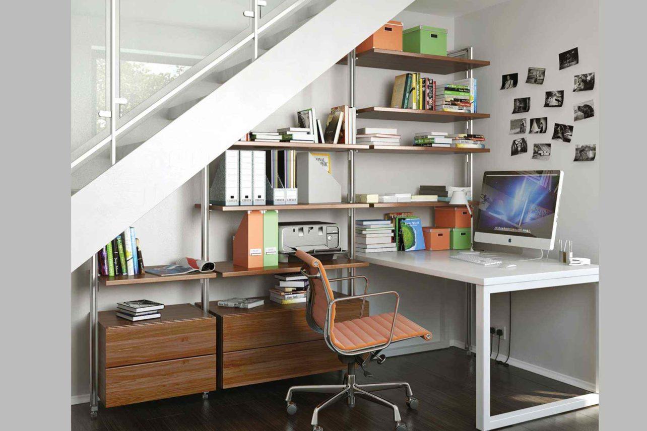 Eingebauter Schreibtisch Qubu