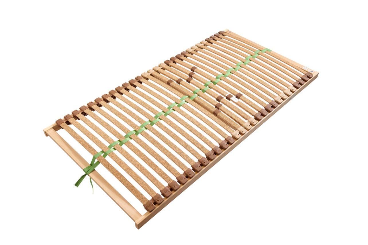 Lattenrost mit Buche-Federholzleisten BeneVita Duo Basic Plus in 120 cm und 140 cm Breite