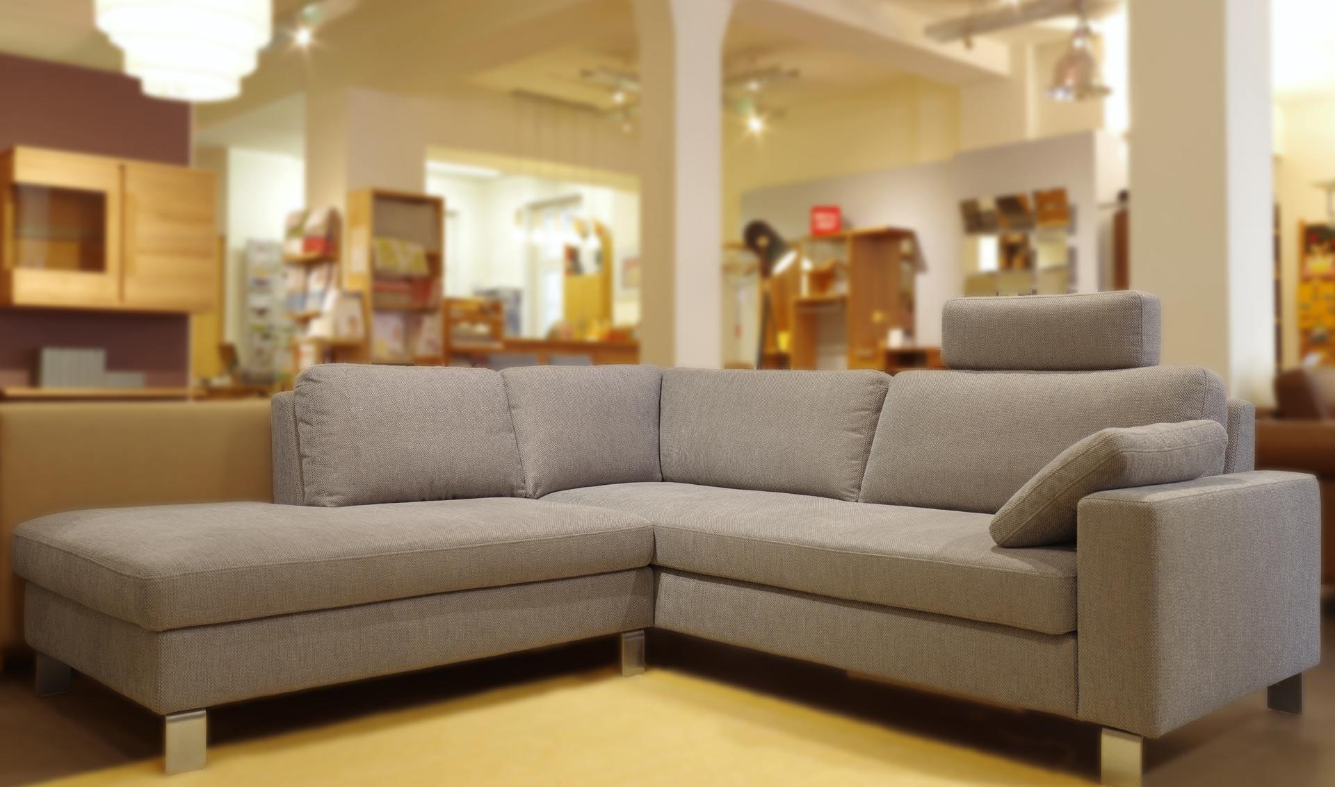 3sitzer Sofa und Anstellsofa Siena