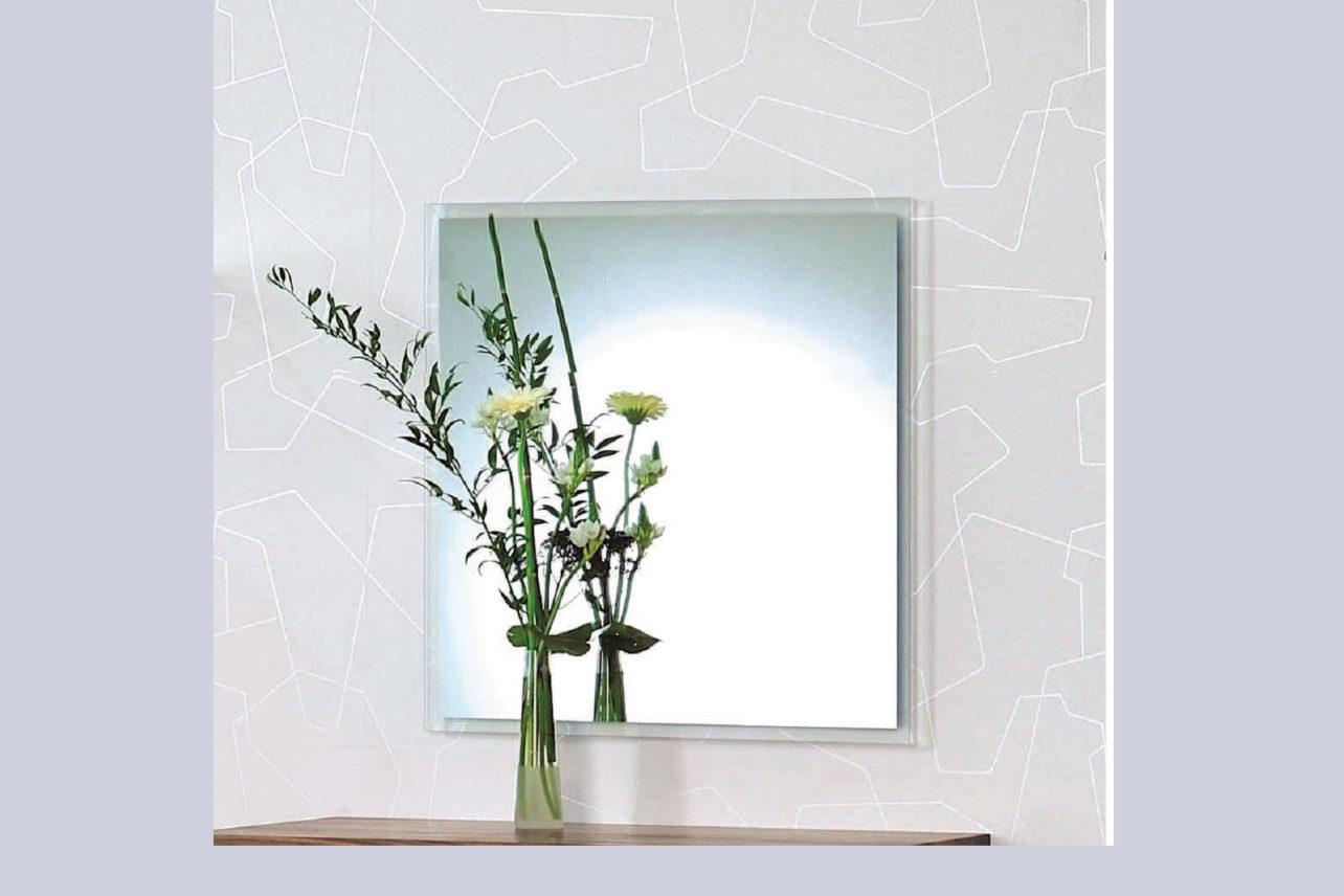 Wandspiegel Facet 1 mit Facettschliffrahmen