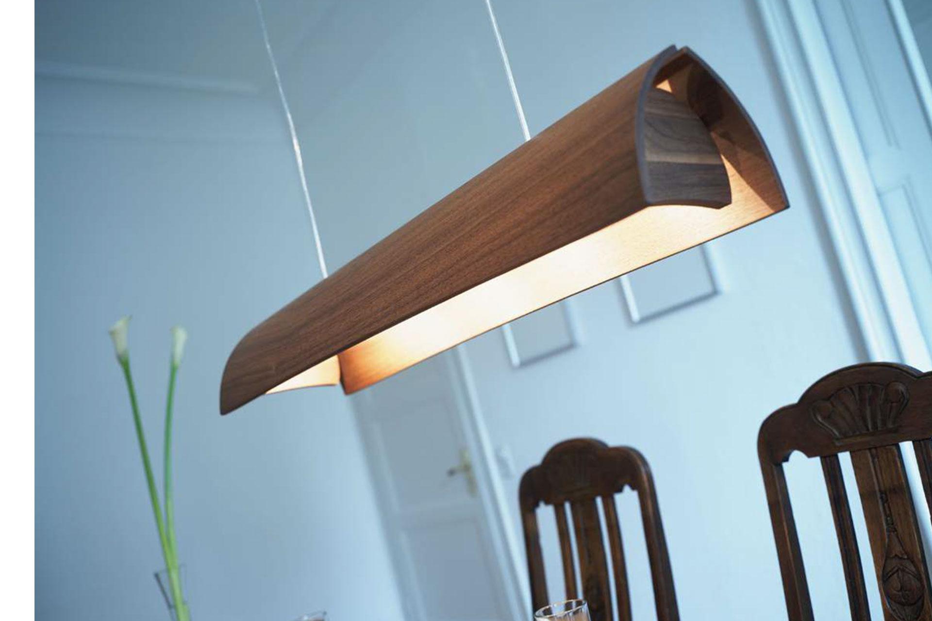 Pendelleuchte Arcus mit G9-Sockel für LED Retrofitlampe