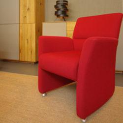 Sessel zum Sofa