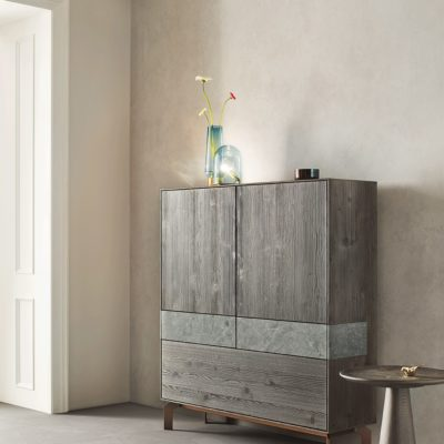 Highboard Puro Stone in Bergfichte Schiefer