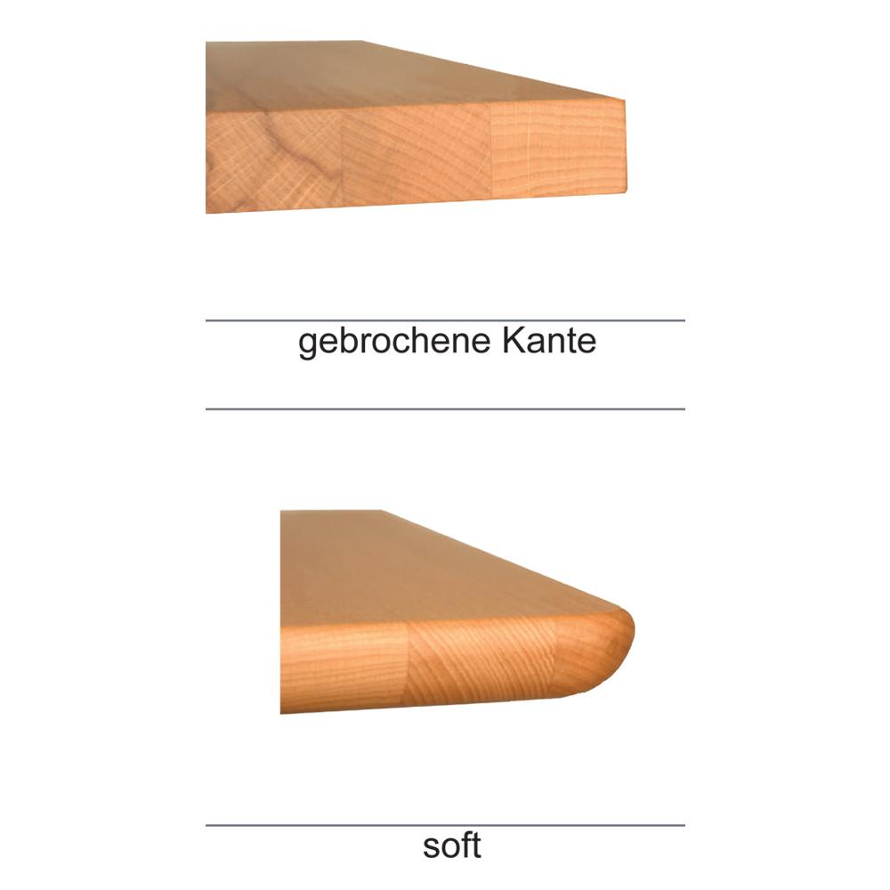 Plattenprofile gebrochen und soft