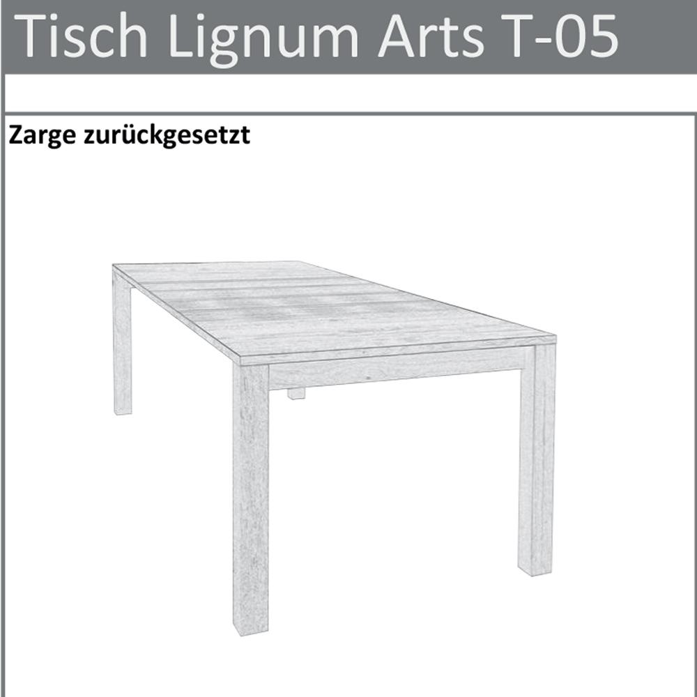 Skizze Tischtyp T-07