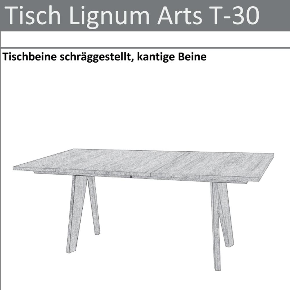 Skizze Tisch T-30