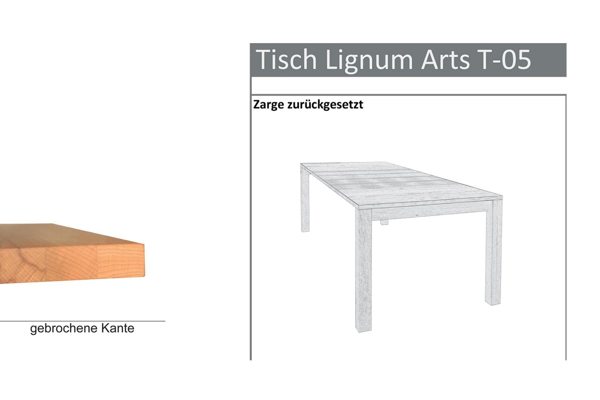 Tischtyp Lignum Arts T-05