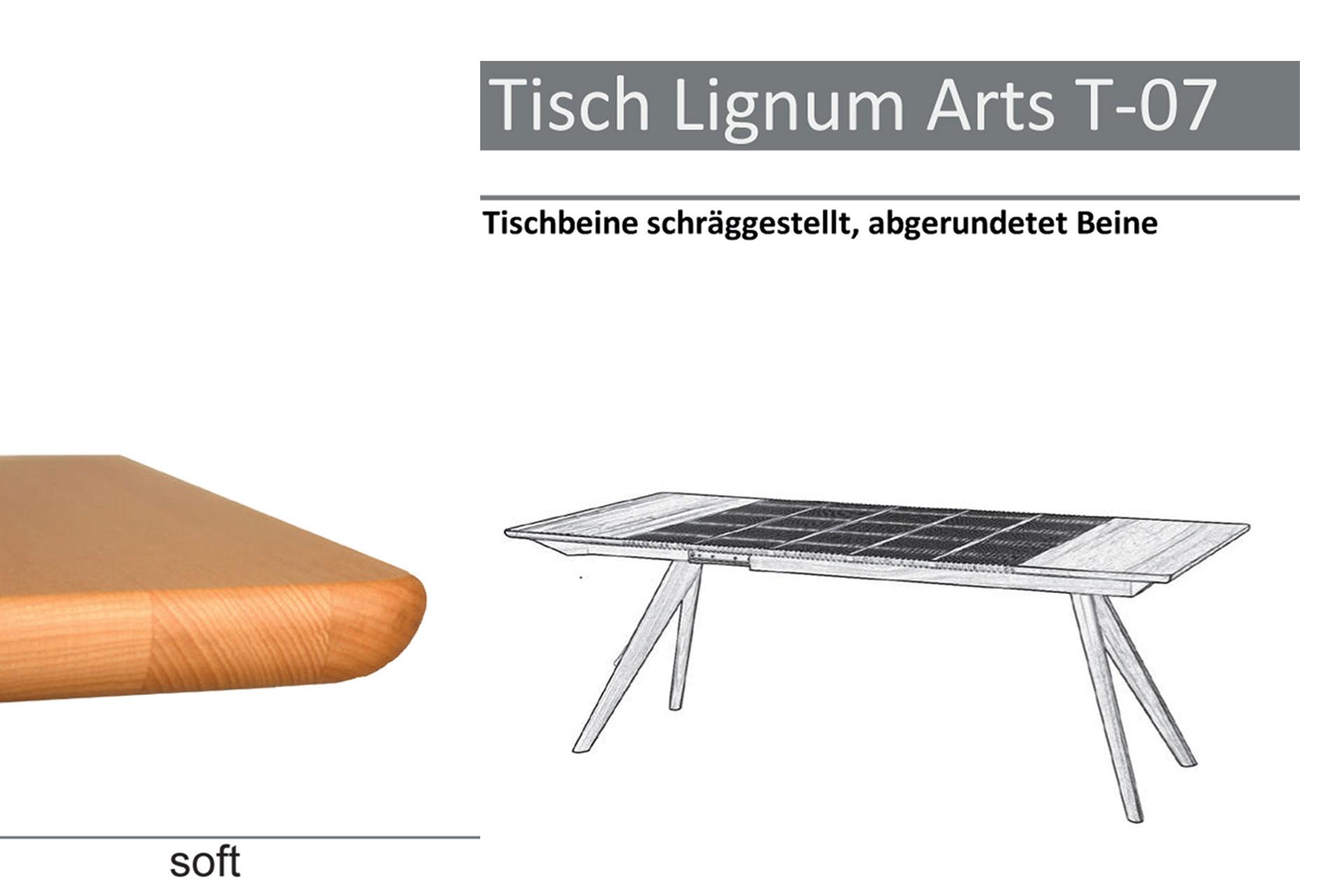 Tischtyp Lignum Arts T-07