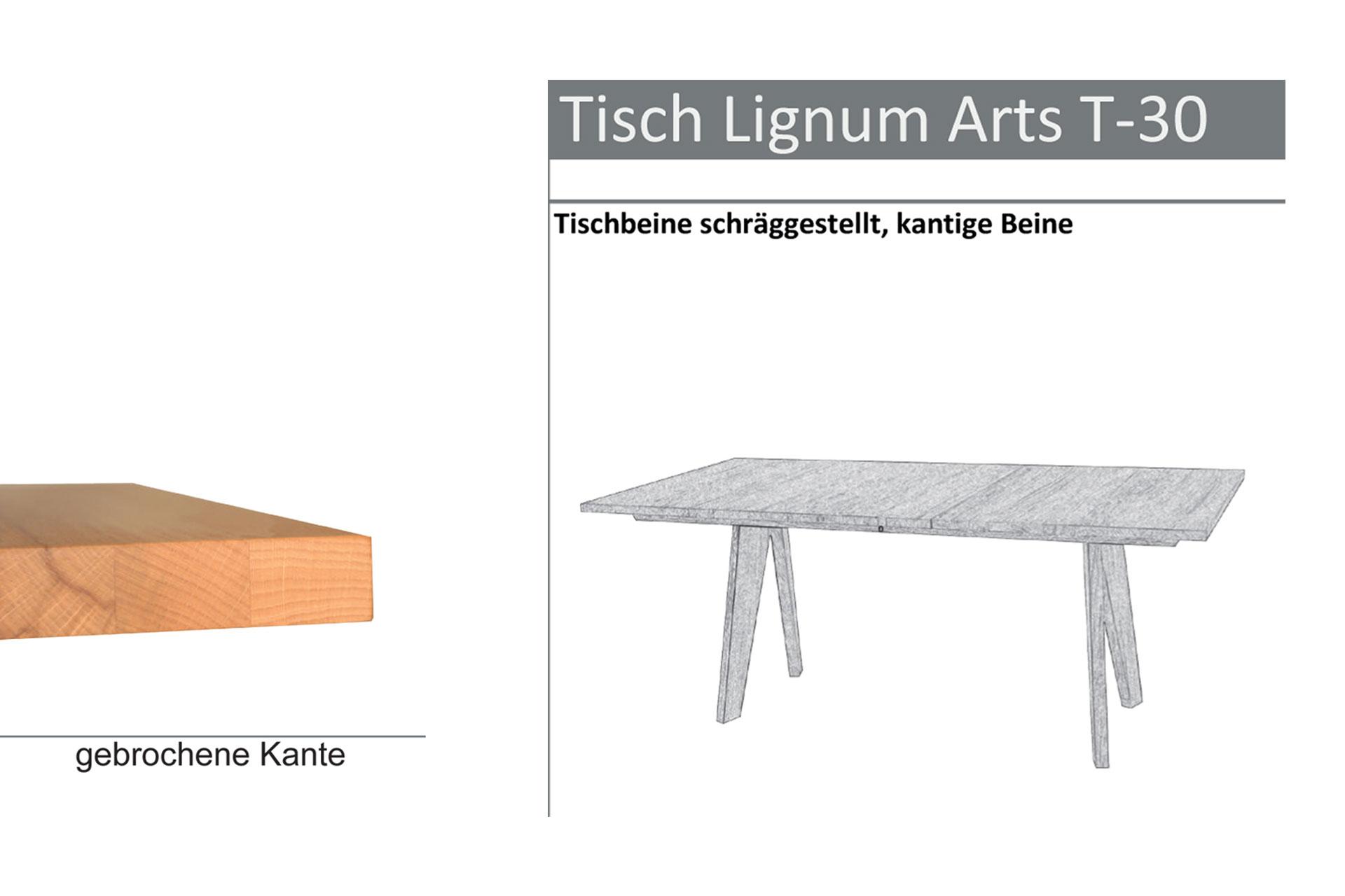 Tischtyp Lignum Arts T-30