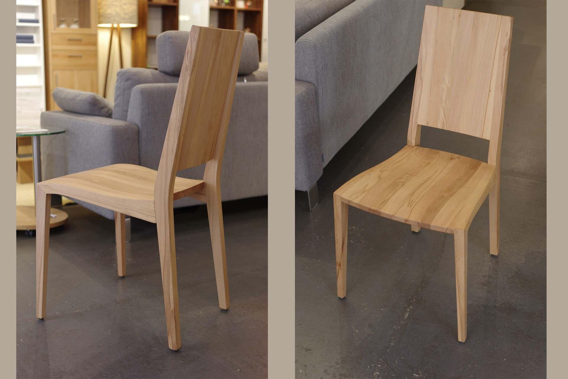 Holzstühle Julia 5 ohne Armlehnen