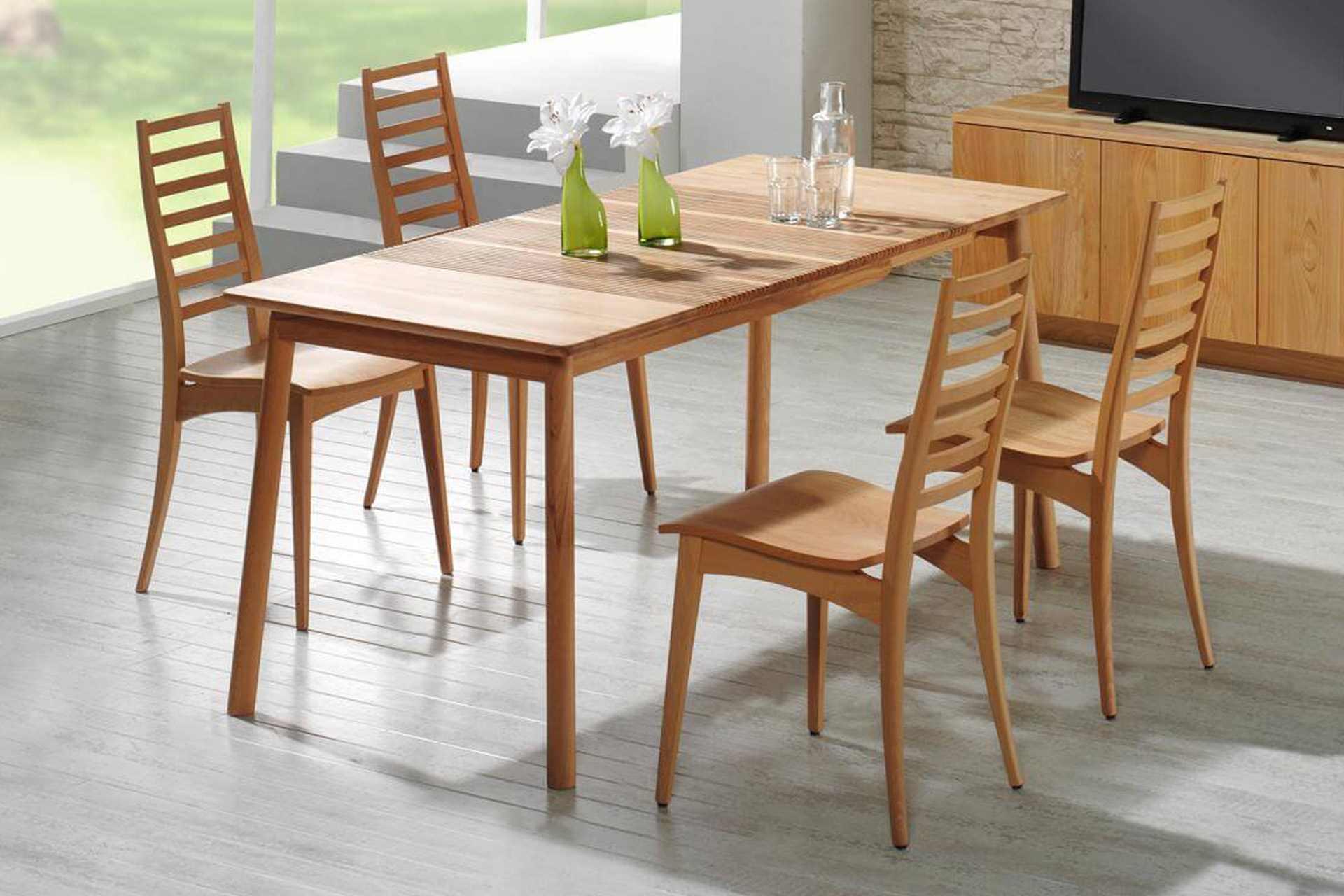 Holzstühle Julia 3 ohne Armlehnen