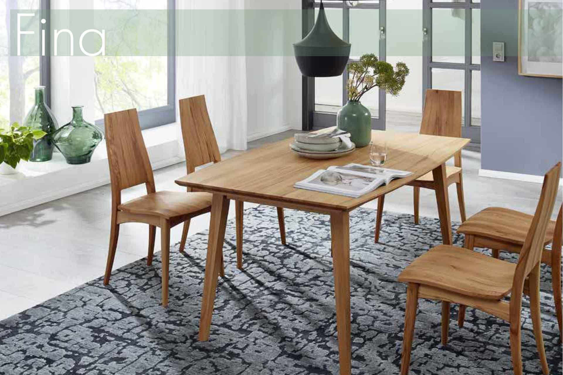 Tisch Fina mit Einlegeplatte